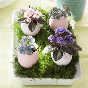 Décoration Pâques fleurs et accessoires – idées magnifiques