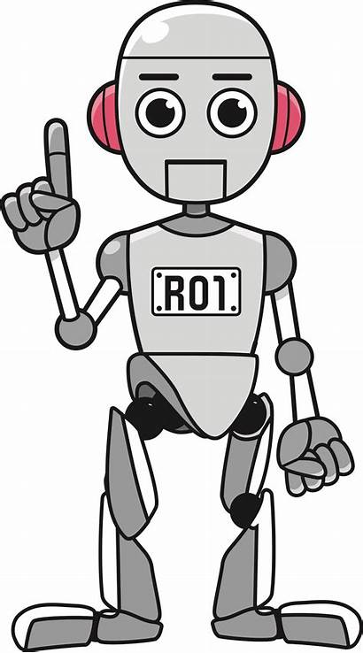 Robot Clipart Clip Standing Taxprof Transparent Clipground