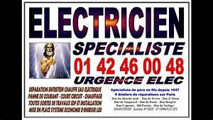 electricien paris 17eme tel 0142460048 entreprise With depannage serrurerie 75017