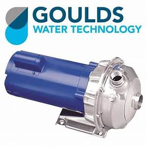 Goulds 1st1f1b4 Single Phase Centrifugal Pump