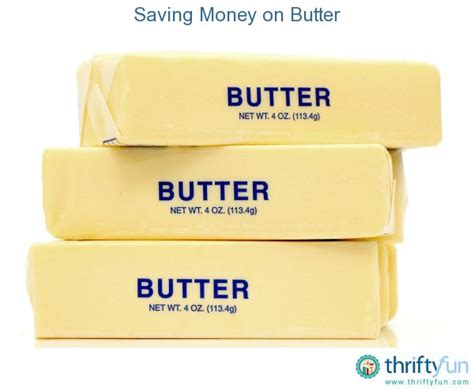 one stick of butter saving money on butter thriftyfun