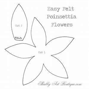Free Printable Poinsettia Template Search Results