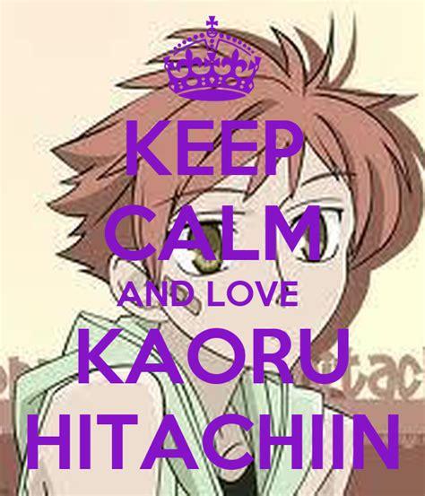 keep calm and kaoru hitachiin