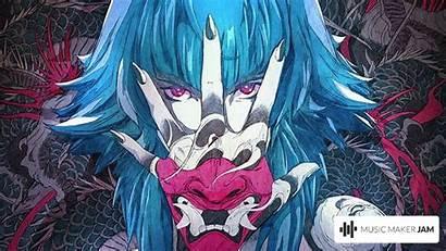 Anime 4k Tattoo Tattooed Oni Trap Minaj