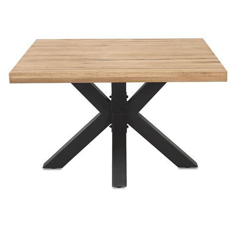 Tische Esstische by Esstisch 120 Cm Quadratisch In Eiche Massiv Metall