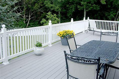 vinyl porch railing vinyl railings vinyl deck railing stair railing