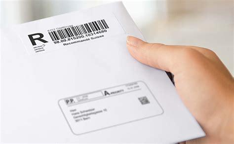 strumenti  invii  codice  barre la posta