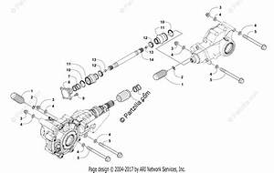 Arctic Cat Atv 2017 Oem Parts Diagram For Drive Train Assembly  302149