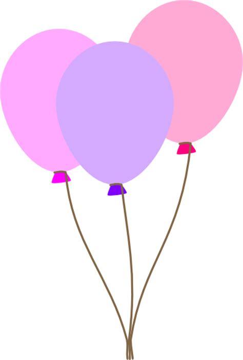 Girl Ballons Pink Clip Art at Clker.com - vector clip art