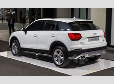 2017 Audi Q2 here in February $41,100 starting price for