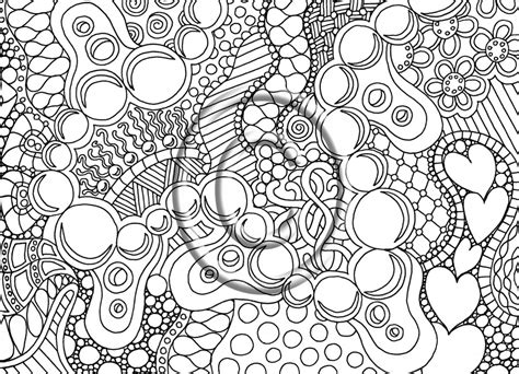Difficult Coloring Pages For Adults To Download And Print
