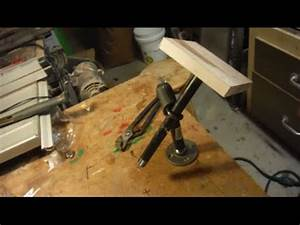 Making the Poor Man's Wood Carving Vise - YouTube