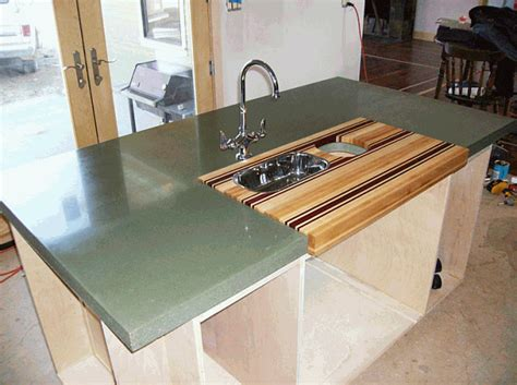 cutting board countertop built in countertop cutting board design decoration