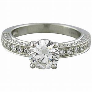 bulgari diamond platinum engagement ring at 1stdibs With wedding ring bulgari