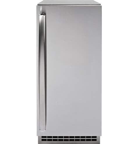 pipss ge profile series stainless steel ice maker door kit door panel  handle