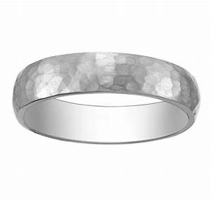 hammered platinum wedding band for your groom from With hammered platinum wedding ring