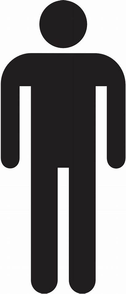 Stick Silhouette Clip Male Person Clipart Outline