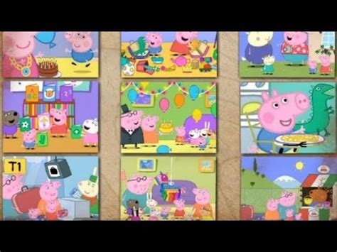 tappeto puzzle peppa pig peppa pig jigsaw puzzle 4