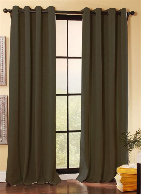 Grommet Curtains by Utah Grommet Top Panel Spa Renaissance Home Fashions