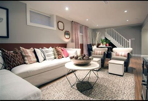 basement living room ideas soft colors decorate  amazing simple  soft gray stained wall