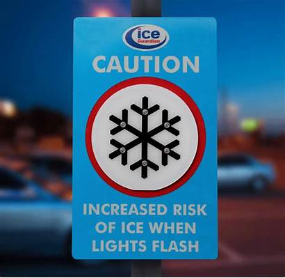 Ice Guardian Warning Risk Signs