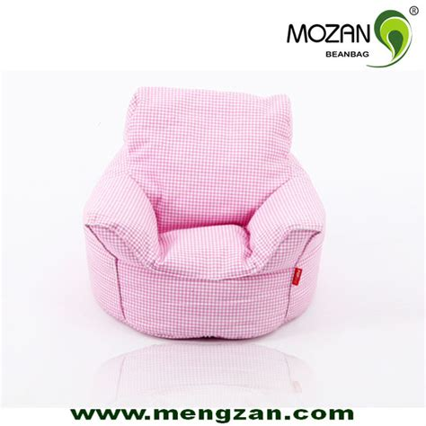 new colorful cotton fabric reading fancy bean bag
