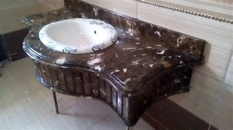 kitchen granite countertop ideas حوض حمام رخام دارك امبرادور م عمار 01090371780