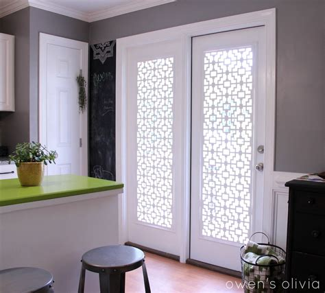 Door Window Coverings by Owen S Custom Window Treatments Using Pvc