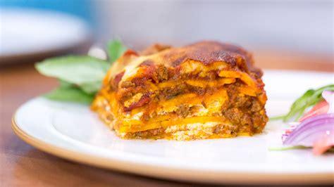 calorie gluten  sweet potato lasagna todaycom
