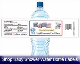 personalized baby shower favors bottle labels candy bar With cute sayings for water bottle labels