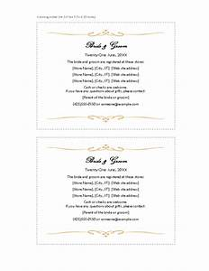 wedding invitation wording wedding invitation templates With free wedding registry card template