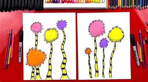draw  truffula tree art  kids hub