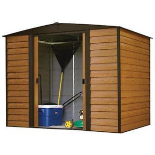 kmart metal storage sheds arrow shed wr86 woodridge 8 x 6 steel storage shed