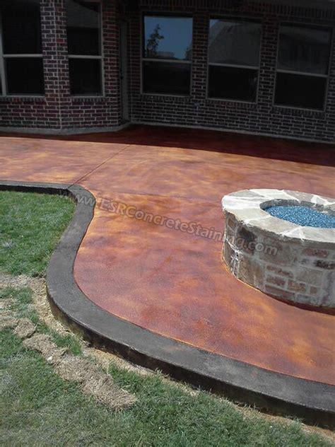 concrete staining trophey club tx1 esr decorative
