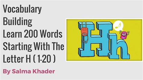 4 letter h words easy way to build your vocabulary learn words starting 20103 | maxresdefault