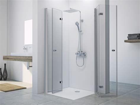 Dusche Drehfalttür Eckeinstieg 90 x 90 x 220 cm