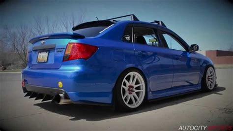 custom blue subaru 2010 wrx gymkhana 1 exhaust custom youtube