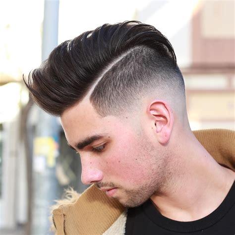 top  futuristic crispy hard part hairstyle  men