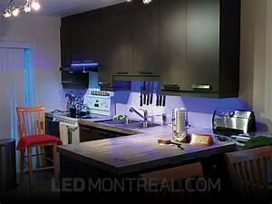 Eclairage Led Pour Cuisine : clairage sous armoires dans la cuisine d andr led montr al ~ Preciouscoupons.com Idées de Décoration