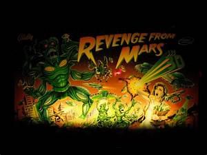 VidiotArcade.com © 2013 - Bally Revenge from Mars Pinball