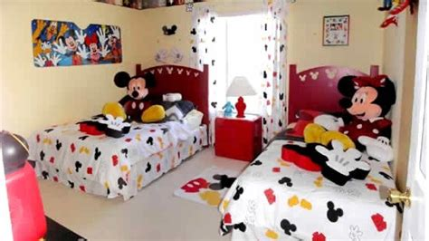 Mickey Mouse Kids Bedroom Decorations