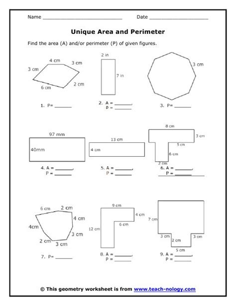 35 Best Area Of Polygons Images On Pinterest  Maths, Geometry And Area Worksheets