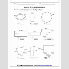 The 25+ Best Area And Perimeter Worksheets Ideas On Pinterest  Area And Perimeter, Area And