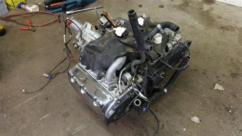 1997 Honda Goldwing Gl1500 Se Hm639-1. Engine Motor Good