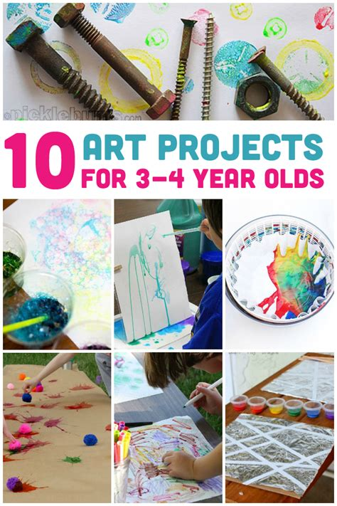 awesome art projects    year olds preschool art