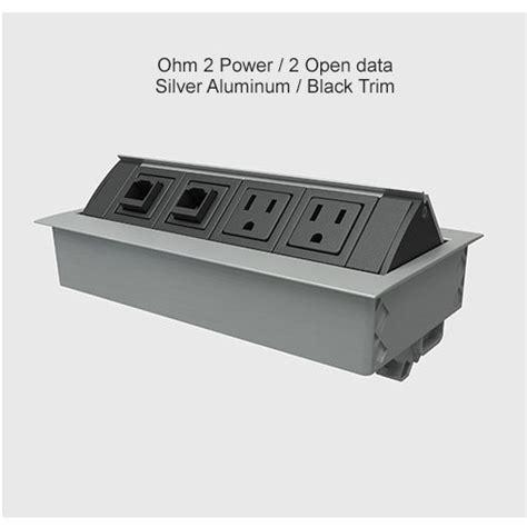 built in desk outlets built in desk outlets inserts cableorganizer com