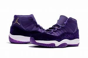 """2017 Cheap Air Jordan 11 """"Purple Velvet Heiress"""" Shoes For ..."""