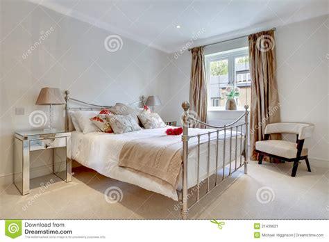 modern chic bedroom interior stock image image