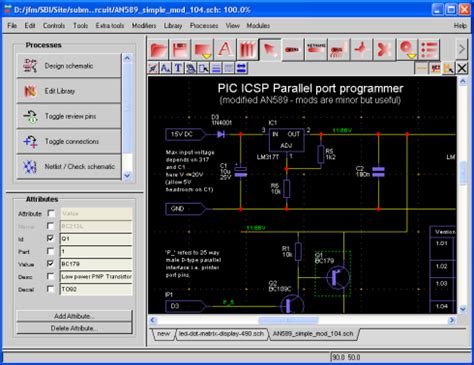 schematic drawing software
