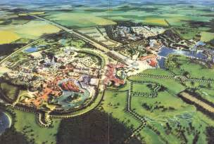 disneyland paris  map drawing   park